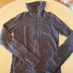 Lulu lemon full zip track jacket